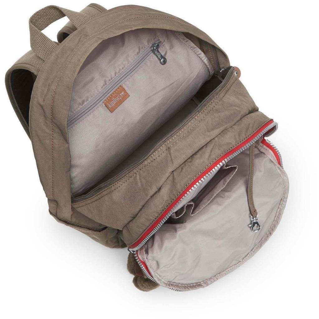 KIPLING Schulrucksack »Clas Challenger, True Beige«