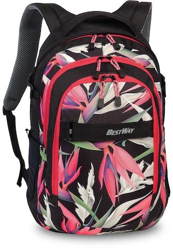 Bestway Laptoprucksack »Evolution Air, schwarz/rot« kaufen