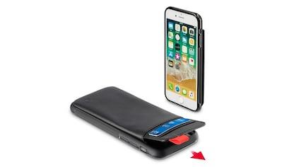 Hama Cover,Tasche für Apple iPhone 6/6s/7/8 Red Sensation No. 1 »Smartphone Hülle Schwarz/Rot« kaufen