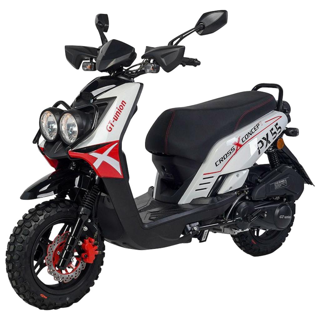 GT UNION Motorroller »PX 55 Cross-Concept«, 125 cm³, 85 km/h, Euro 5, 8,4 PS, EURO 5