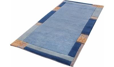 LUXOR living Wollteppich »India«, rechteckig, 20 mm Höhe, reine Wolle, handgeknüpft,... kaufen