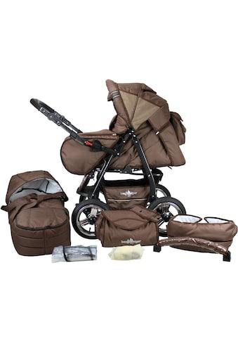 bergsteiger Kombi-Kinderwagen »Rio, chocolate, 3in1«, mit Lufträdern; Made in Europe kaufen