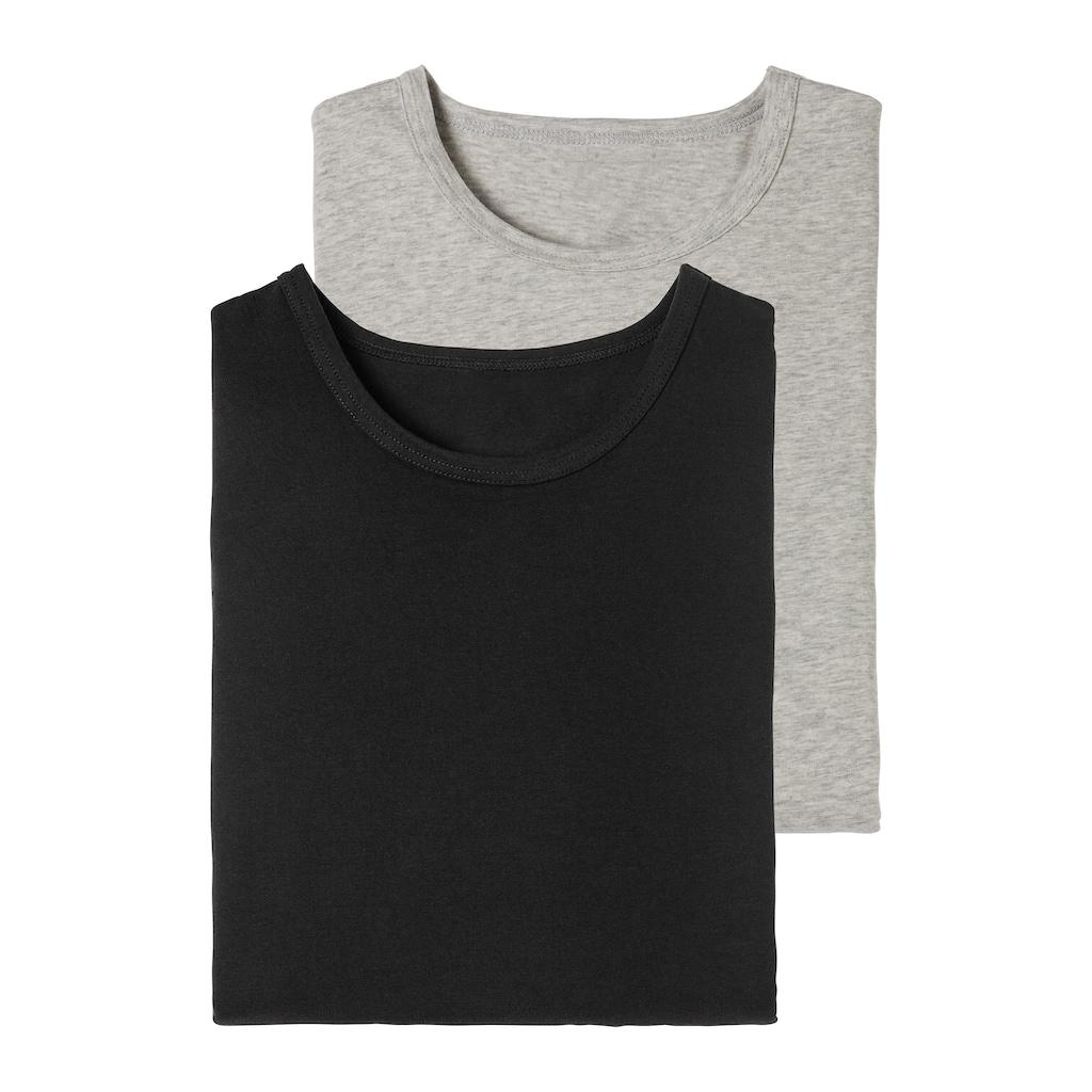 H.I.S Langarmshirt, aus Baumwolle