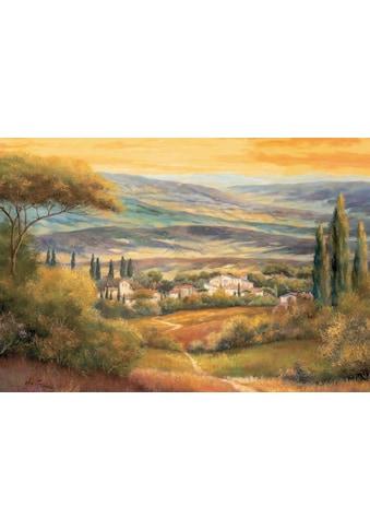 Home affaire Wandbild »Toskanatal«, 79/58 cm kaufen