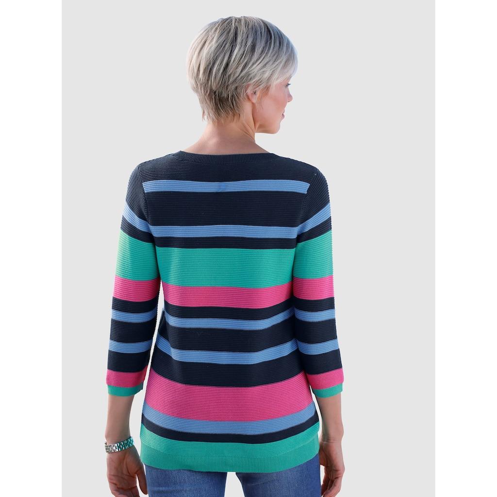 Dress In Pullover mit Rippstruktur