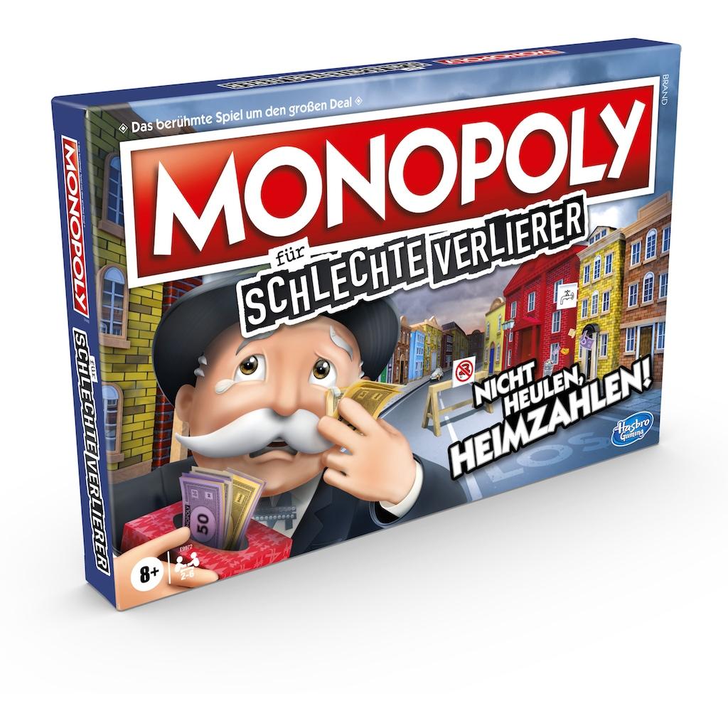 Hasbro Spiel »Monopoly für schlechte Verlierer«, Made in Europe