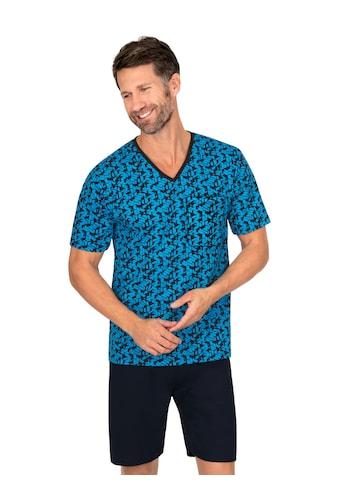 Trigema Schlafanzug, mit geometrischem Muster kaufen
