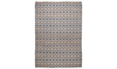 TOM TAILOR Teppich »Geometric«, rechteckig, 7 mm Höhe, Flachgewebe, handgewebt,... kaufen
