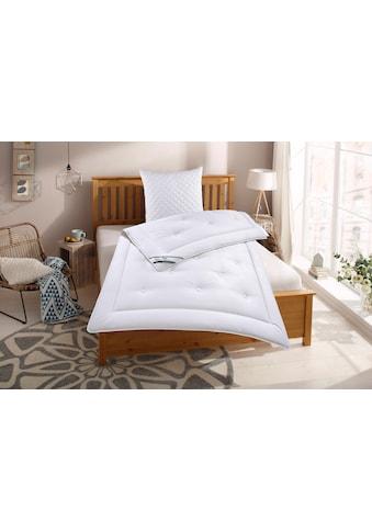fan Schlafkomfort Exklusiv Naturfaserbettdecke + Kopfkissen »Baumwolle«, (Spar-Set) kaufen