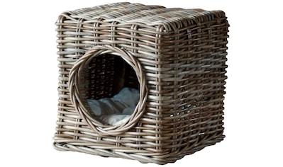 SILVIO design Tierbett »Milo«, Katzenhoehle, BxLxH: 35x35x35 cm kaufen