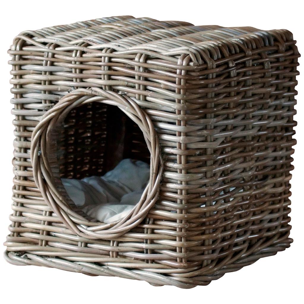 SILVIO design Tierbett »Milo«, Katzenhoehle, BxLxH: 35x35x35 cm