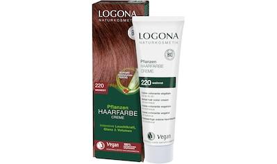LOGONA Haarfarbe »Logona Pflanzen-Haarfarbe Creme« kaufen