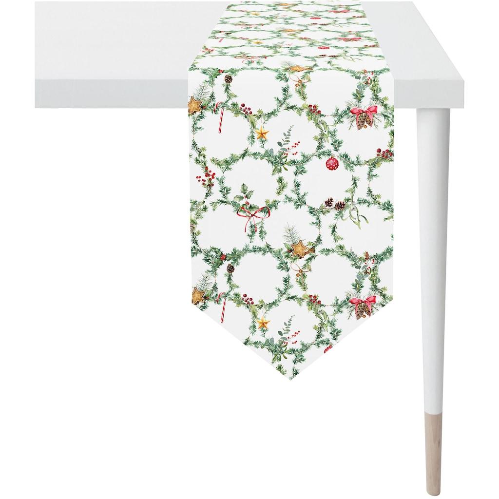 APELT Tischband »3606 Winterwelt«, (1 St.), Digitaldruck