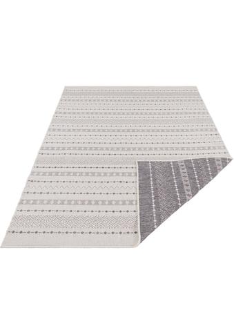 freundin Home Collection Teppich »Lily«, rechteckig, 5 mm Höhe, In- und Outdoor geeignet, Wendeteppich, Wohnzimmer kaufen