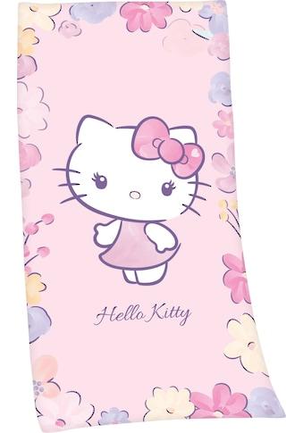 Hello Kitty Badetuch »Hello Kitty«, (1 St.), hochfarbig bedruckt kaufen
