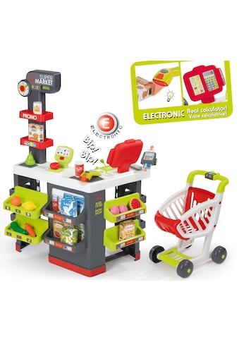Smoby Kaufladen »Supermarkt mit Einkaufswagen«, Made in Europe kaufen