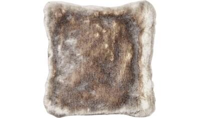 Star Home Textil Dekokissen »Silberfuchs«, besonders weich und hochwertig kaufen
