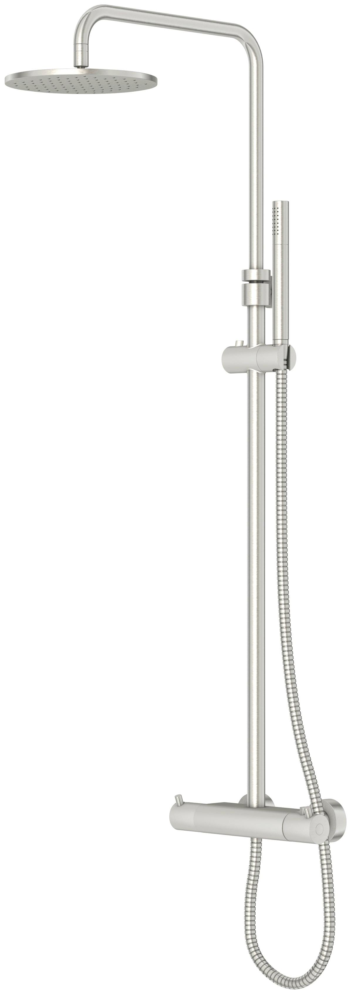 Steinberg Duschsystem 100, Für Durchlauferhitzer ab 21kwh geeignet silberfarben Duschsysteme Badarmaturen Bad Sanitär