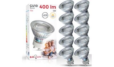 B.K.Licht LED - Leuchtmittel, GU10, Warmweiß kaufen