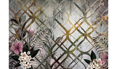 Consalnet Papiertapete »Goldenes Motiv/Blumen«, floral kaufen