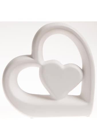 VALENTINO Wohnideen LED Dekoobjekt »Herz Elara«, 1 St., Warmweiß, Höhe ca. 21,5 cm kaufen