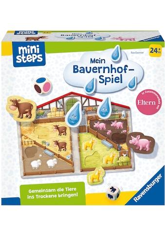 Ravensburger Spiel »ministeps® Unser Bauernhof-Spiel«, Made in Europe, FSC® - schützt Wald - weltweit kaufen