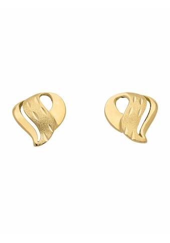 Adelia´s Paar Ohrstecker »333 Gold Ohrringe / Ohrstecker«, Goldschmuck für Damen kaufen