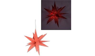 Dekolicht »Fensterstern«, in 3D Optik, mit Motiv kaufen