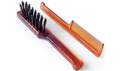 Mondial Antica Barberia Haarbürsten-Set »Bartbürste und -kamm« kaufen