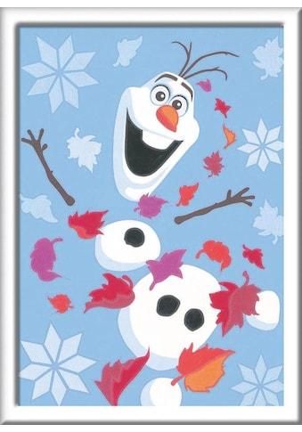 Ravensburger Malen nach Zahlen »Disney Frozen II, Fröhlicher Olaf«, Made in Europe,... kaufen