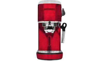 Gastroback Espressomaschine 42719 Design Espresso Piccolo rot kaufen