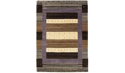 carpetfine Wollteppich »Gabbeh Helen«, rechteckig, 15 mm Höhe, reine Wolle, sehr weicher Flor, Wohnzimmer kaufen