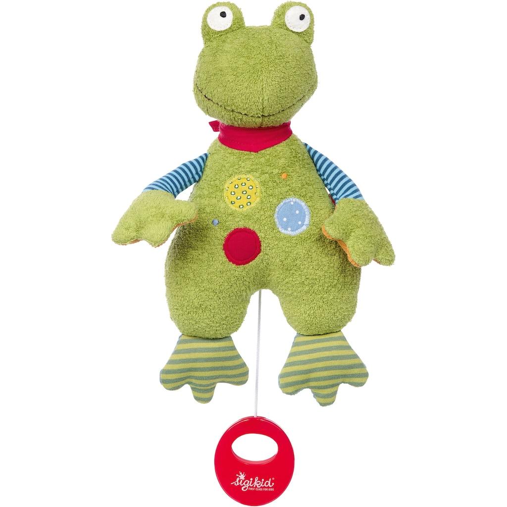 Sigikid Spieluhr »Flecken Frog«, Made in Europe