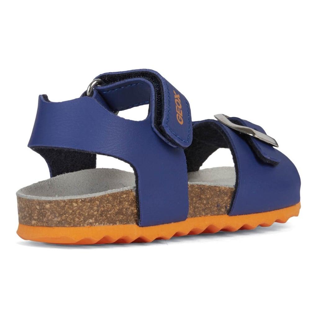 Geox Kids Sandale »CHALKI BOY«, mit patentierter Geox Spezialmembrane