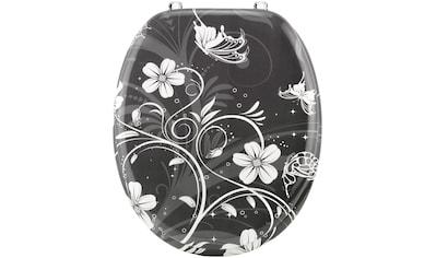 Cornat WC - Sitz »White Flower« kaufen