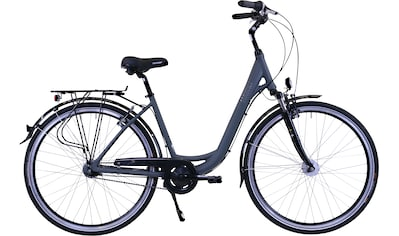 HAWK Bikes Cityrad »HAWK City Wave Deluxe Grey«, 7 Gang Shimano Nexus Schaltwerk kaufen