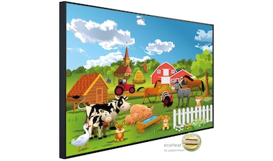 Papermoon Infrarotheizung »EcoHeat - Farm Kindermotiv«, Aluminium, 1200 W, 100 x 115... kaufen