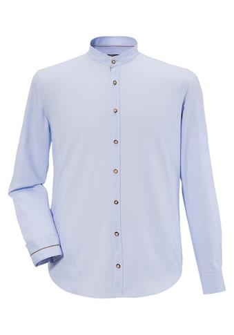 Murk Trachtenhemd mit Krempelärmel kaufen