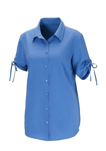 Classic Basics Bluse in attraktiver Crinkle - Qualität kaufen