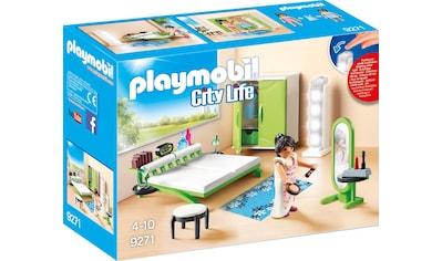 "Playmobil® Konstruktions - Spielset ""Schlafzimmer (9271), City Life"", Kunststoff kaufen"