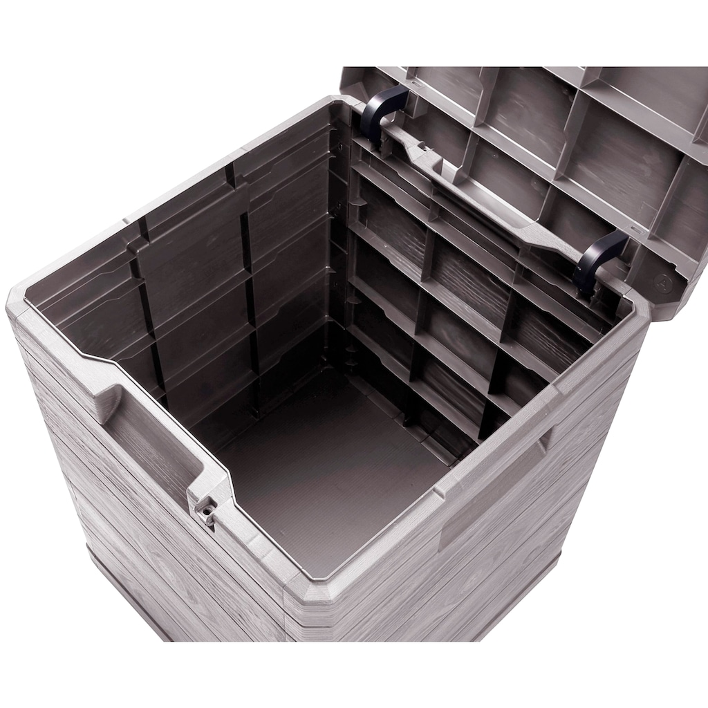 ONDIS24 Kissenbox »Madera Mini«, 90 Liter, Kunststoff