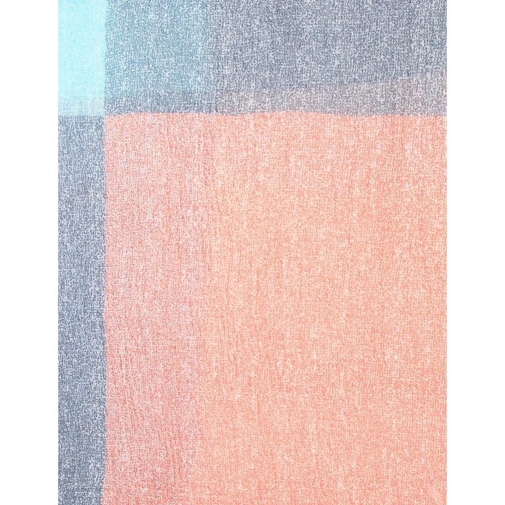 leslii Schal mit großen Quadraten