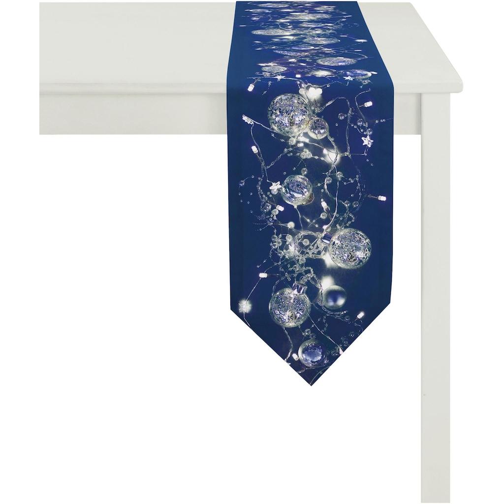 APELT Tischband »2601 Christmas Elegance, Digitaldruck«