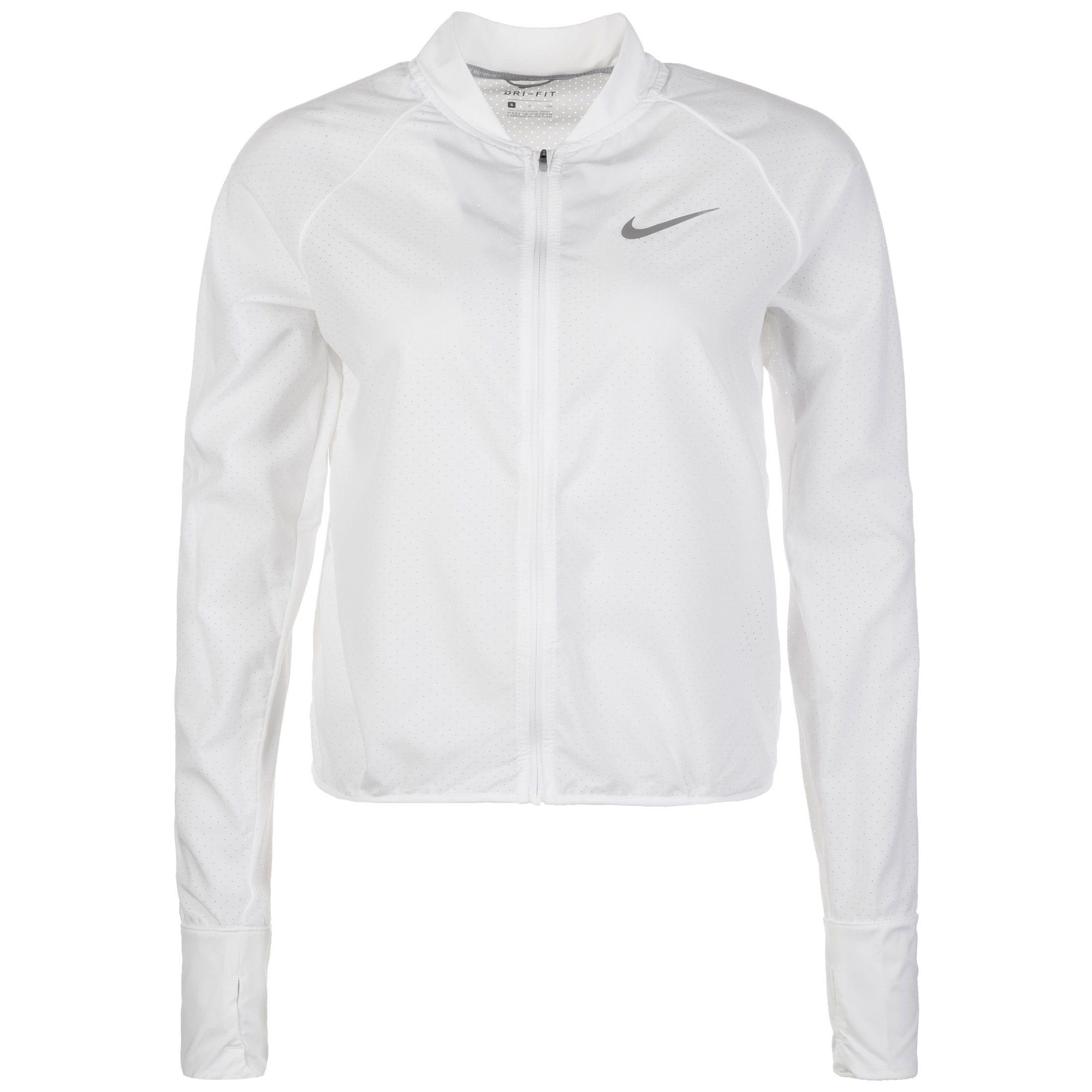 Nike Laufjacke City Bomber | Sportbekleidung > Sportjacken > Laufjacken | Weiß | Nike