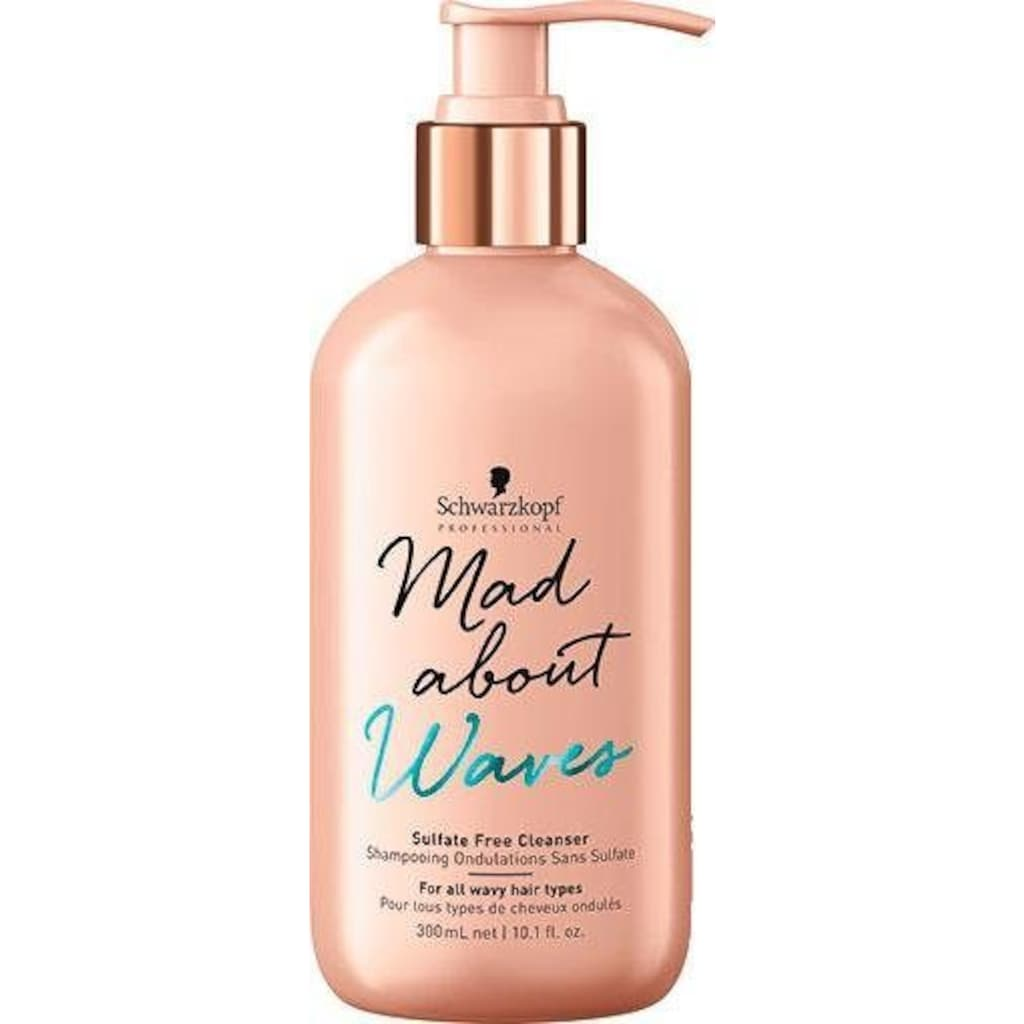 Schwarzkopf Professional Haarshampoo »MAW Sufalte-Free Cleanser«, (1 tlg.), Aquarine-Komplex