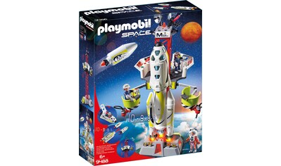 "Playmobil® Konstruktions - Spielset ""Mars - Raktete mit Startrampe (9488), Space"", Kunststoff kaufen"