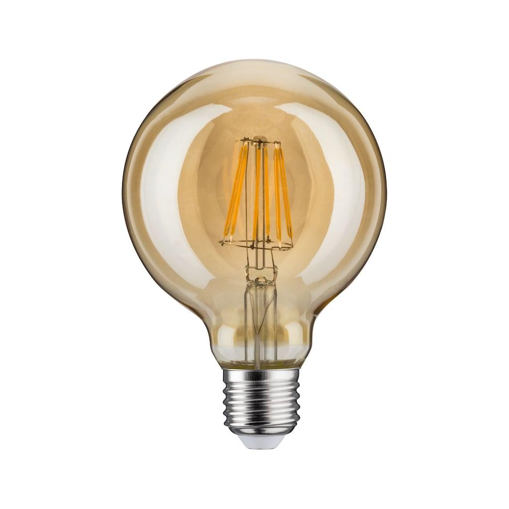 Paulmann LED-Leuchtmittel »Globe 95 6,5 Watt E27 Retro Goldlicht«, 1 St.