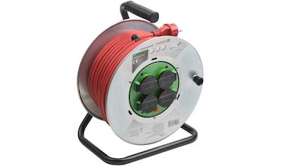 meister Kabeltrommel »H07RNF3G«, 4-fach, (Kabellänge 40 m), mit Überhitzungsschutz kaufen