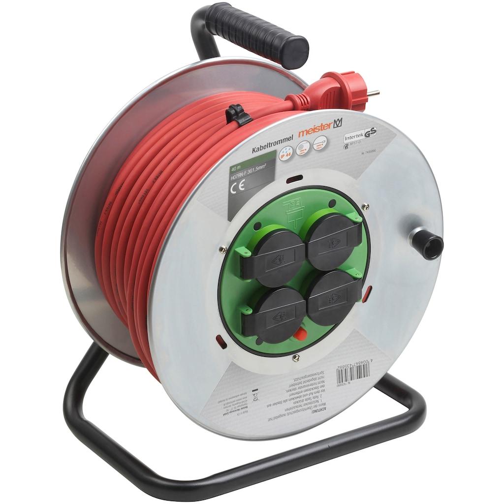 meister Kabeltrommel »H07RNF3G«, ), mit Überhitzungsschutz