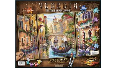 Schipper Malen nach Zahlen »Meisterklasse Triptychon, Venedig - Die Stadt in der Lagune«, Made in Germany kaufen